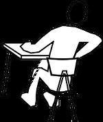 Rückenschmerzen beim Bürotätigkeiten