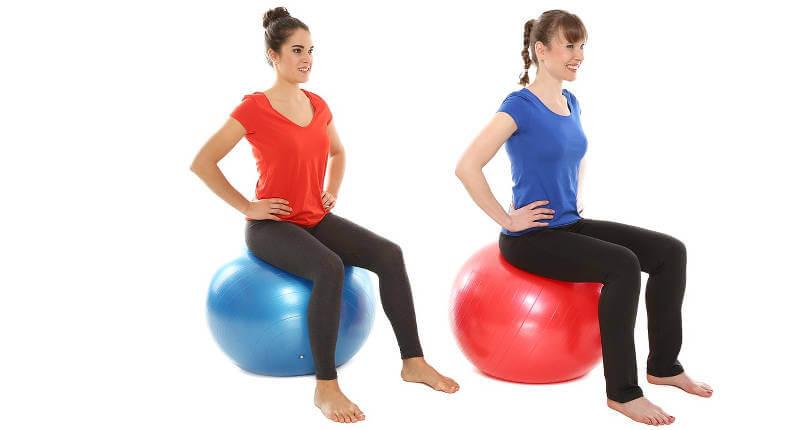 Sitzgymnastik für den Rücken