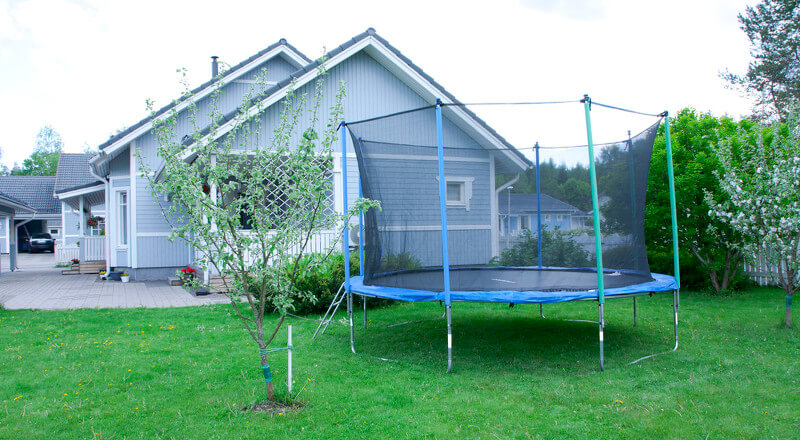 Outdoor Kindertrampoline