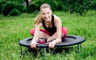 Auspowern, abnehmen, Spaß haben mit Trampolin-Fitness!
